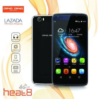 Harga DING DING HEAT 8 - 5.5 - 2GB+16GB - 4G LTE (BLACK) - 1 Year Ding Ding Malaysia Warranty