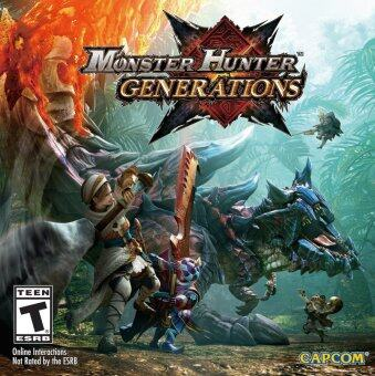 Harga Monster Hunter Generations - Nintendo 3DS
