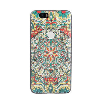 Harga For Google Nexus 6P case, 3D Relief painting soft Silicon back cover case for Huawei Nexus 6P(Color-3)