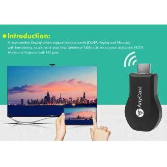 Harga EasyCast TV Stick Full HD 1080P WiFi Wireless Display Receiver Dongle HD TV Mini PCOTA Miracast DLNA Airplay Airmirroring for Smart Phones Tablet Notebook