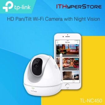 Harga TP-LINK - HD Pan/Tilt Wi-Fi Camera with Night Vision, NC450