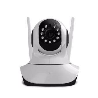 Harga IP camera wireless/Lan HD 720P 330 angle Pan Tilt motion detection night vision CCTV Surveillance Camera Slot 64GB Micro SD double antenna good wifi signal receiving