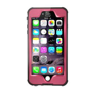 Harga Waterproof Diving Snowproof Photograph Case Cover for iPhone 6 6s pink