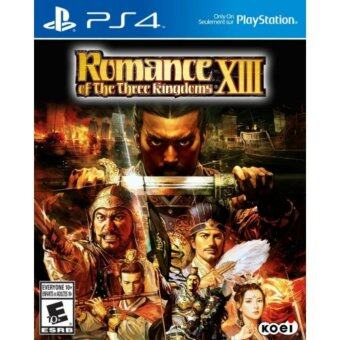 Harga PS4 ROMANCE OF THE THREE KINGDOMS XIII English-R1/ALL