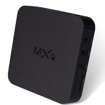 Harga MXQ TV BOX MX Amlogic S805 Quad Core Android 4.4 TV box Kitkat 4K 1GB/8GB XBMC IPTV fully Loaded WIFI Airplay Miracast (Black)