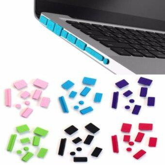 Harga LYBALL Silicone Ports Cover Set Anti-Dust Plug Stopper 9pcs for Macbook Pro 13 15 A1278 A1286