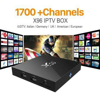 Harga Latest X96 Amlogic S905X Quad Core Android 6.0 IPTV TV BOX 2G/16G KODI 16.1 4K Smart Android Tv box PK M8s T95 Set Top Box X96