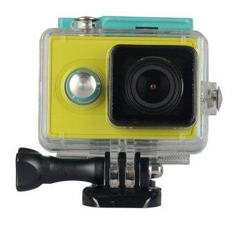 Harga Kingma 60M Diving External Backup Waterproof Cover Case Housing for Xiaomi Xiaoyi Yi Action Sports Camera (Green)