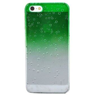 Harga Moonar Gradient Waterdrop Back Case For iPhone 5 5S (Green)