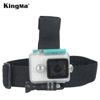 Harga KingMa Xiaomi Xiaoyi Action Yi Sport Camera Head Strap Camera Mount
