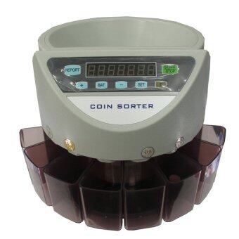 Harga Electronic Coin Sorter Machine with LCD display