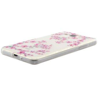 Harga Plum Blossom Pattern Slim TPU Case for Samsung Galaxy J1 Ace SM-J110 (White)