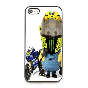 Harga phone case TPU cover Valentino Minion Rossi for Apple iPhone 5 / 5s