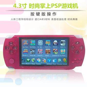 Harga 2017 Hot Portable Handheld Game Console 4gb built in 1000+ Games Video Games Support Camera MP3 Player(Red)