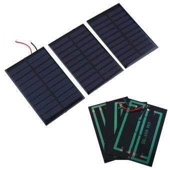 Harga 5V Mini Solar Panel Battery power charger charging Module DIY Cell car home