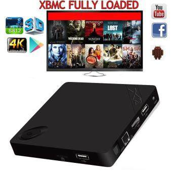 Harga X2 Mini XBMC Quad-core WIFI 1G+8G HD 4K Media Player Android 4.4 TV Box US Plug