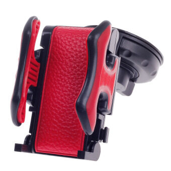 Harga ZUNCLE Yeleno Y-1256 Universal 360 Degree Rotation Car Holder Bracket for PDA / GPS / Mobile Phone / MP4(Red)