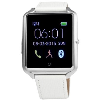 Harga Bluboo U watch Smart Watch MTK2501 Bluetooth 4.0 Smartwatch (Silver)