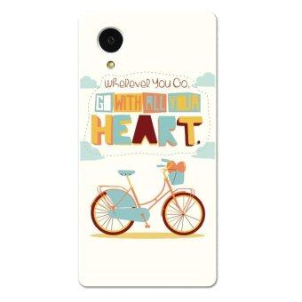 Harga PC Plastic bicycle Case for LG Nexus 5 off (White)