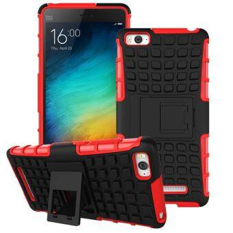 Harga 2-in-1 Shockproof Stand Cover Case for Xiaomi Mi 4i / Mi 4C