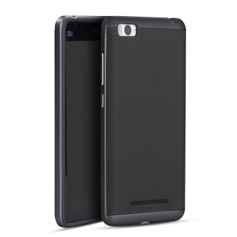Harga IPAKY Hard PC + Silicone Protector Back Cases for Xiaomi Mi 4C / Xiaomi Mi 4i (Black)