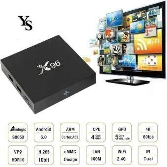 Harga X96 IPTV Android 6.0 S905X 2GB RAM /16GB ROM Quad Core Smart TV BOX
