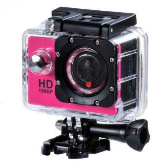 "Harga SJ4000 Action Camera go style pro 1080P Full HD DVR 12MP 1.5""LCD waterproof 30M Action Cam Sports Camara (Red)"