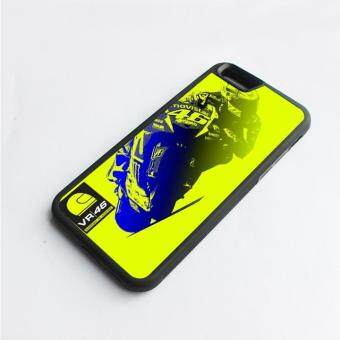 Harga phone case TPU cover Vr 46 Movistar Rossi for Apple iPhone 6 / 6s