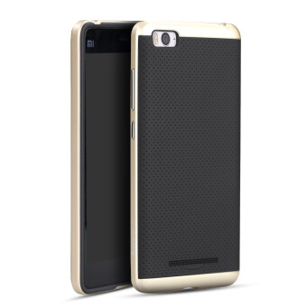 Harga IPAKY Hard PC + Silicone Protector Back Cases for Xiaomi Mi 4C / Xiaomi Mi 4i (Gold)