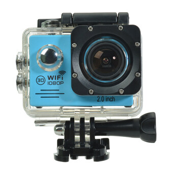 Harga SJ7000 Action Camera 2-inch LCD Wifi Sports Cam Camcorder (BLU)