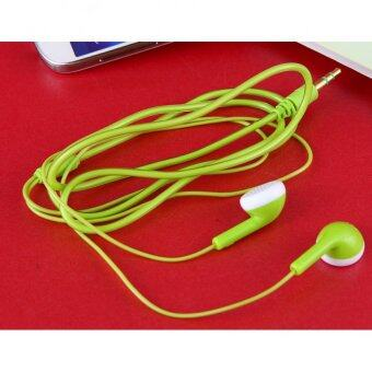 Harga 3.5mm Stereo Headphone (Green)