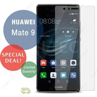 Harga Huawei Mate 9 / Huawei Mate9 / Hua wei Mate9 / HuaweiMate9 Phone High Definition Premium 2.5d 9H Tempered-Glass / Screen-Protector - (Clear)