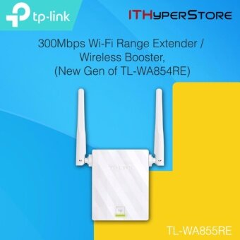 Harga TP-Link TL-WA855RE Repeater WiFi Wireless Range Extender Booster with AP