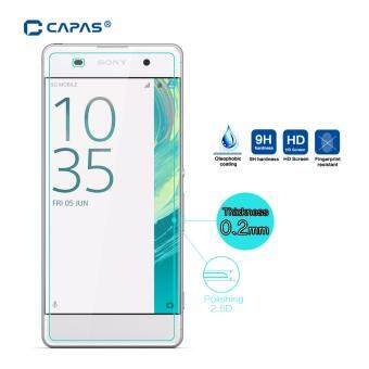 Harga CAPAS 9H Explosion-Proof Glass Protective Glass Film Guard Tempered Glass for Sony Xperia XA F3111