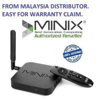 Harga MINIX NEO U1 Quad Core Android HDMI NEO U1 4K UHD IPTV Smart TV BOX (ORIGINAL)