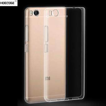 Harga HOECOGE For Xiaomi mi5 Transparent soft silicone Case For Xiaomi 5 Cover TPU Protective Cover Skin Shell