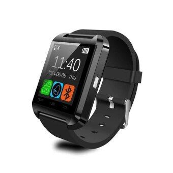 Harga Evatronic U8 UWatch Bluetooth Touch Screen Smart Watch - Android Smart Wrist Wear Notification (Black)