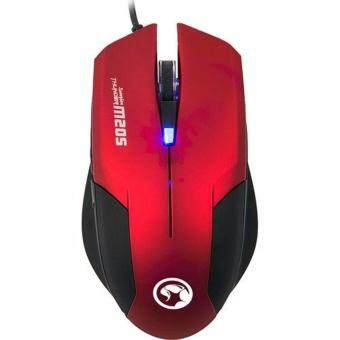Harga Marvo M205 Backlighted Optical Mouse (Red)