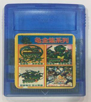 Harga Gameboy Color Teenage Mutant ninja Turtle 4 In 1 Collection