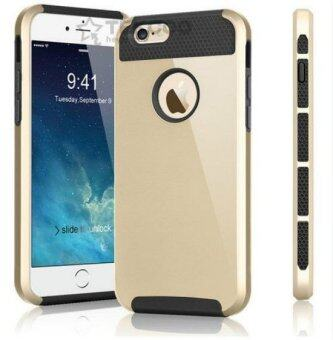 Harga Case Cover for Apple iPhone 6 Plus / 6s Plus Hard Plastic Back Cover i5 i6 i7 Mobile Phone Case(Gold)
