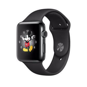Harga Apple iWatch Series 2 MP4A2 42mm space black aluminium case with space black sport band (1 Year Apple Malaysia Warranty)