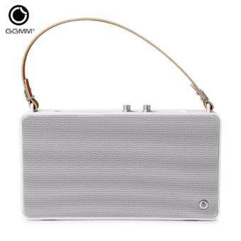 Harga GGMM E5 Wireless WiFi Bluetooth Speaker Outdoor Portable Handsfree Multi-room HiFi Stereo Waterproof Speakers 3D Music Player US Plug
