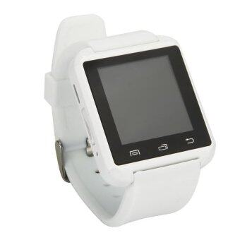 Harga U8 Fashion Smart Watch Bluetooth Sport Android Phone Music (White)