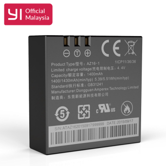 Harga Official YI 4K Action Camera Battery Replacement