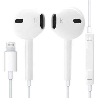 Harga Premium Lightning Output Earpod Earphone For iPhone 7/7 Plus