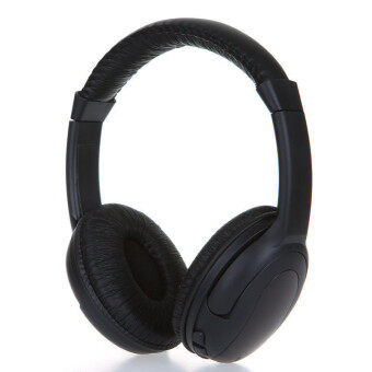 Harga 5in1 Hi-Fi Wireless Headphone (Black)
