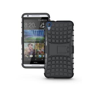 Harga Croco Hard Stand Cover for HTC Desire 820 (Black)