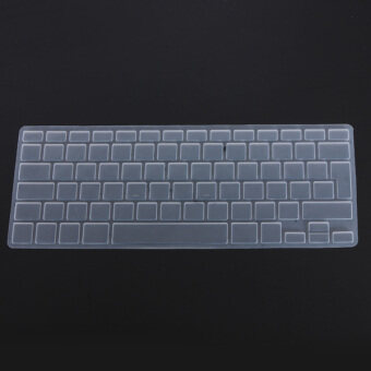 Harga Clear Silicone Keyboard Cover Skin For EU UK Version Macbook Pro Air 13 15 17 (Intl)