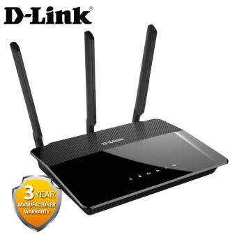 Harga D-Link DIR-880L Wireless AC 1900Mbps Dual-Band Gigabit Cloud Router,3 Antenna,USB 3.0support (My D-LINK)