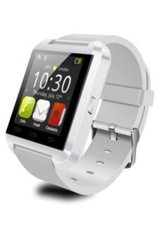Harga Uwatch U8 Bluetooth Touch Screen Smart Watch For Android iphone - White